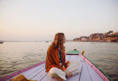 women solo traveller